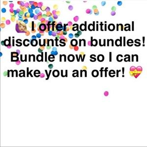 Discounts honored on all bundles